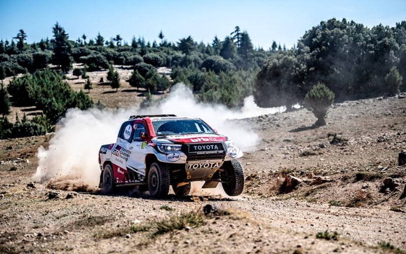 Toyota Gazoo Racing storm to victory in Morocco