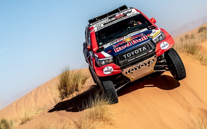 Toyota's team to take on the 2020 Dakar Rally