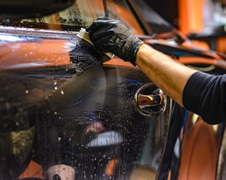 Waxing your car