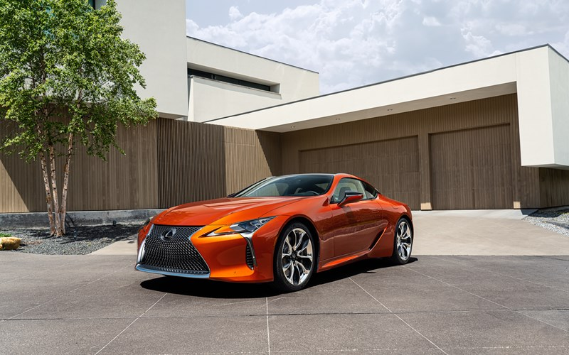 Lexus LC gets even better