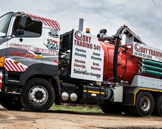 SA's first working water recycling truck