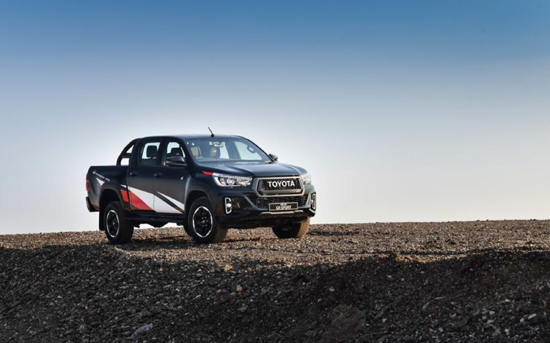 Toyota tops the LCV sales charts yet again