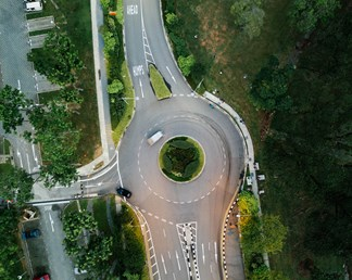 How traffic circles work