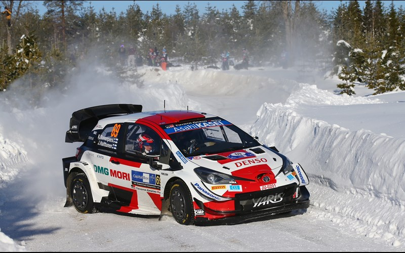 Toyota at the top of the WRC