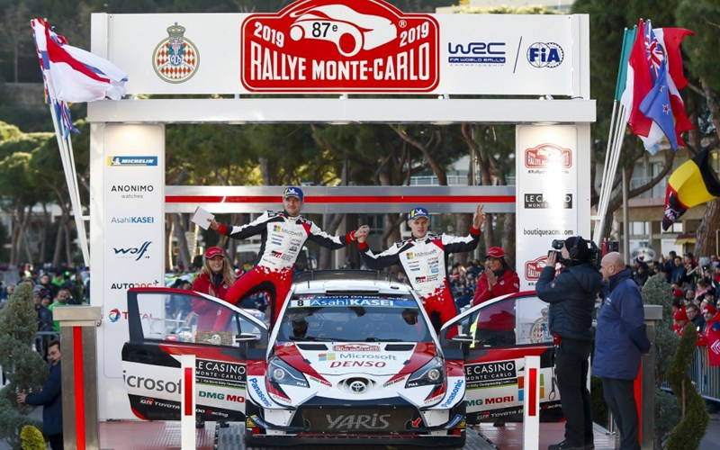 Another WRC victory for Toyota
