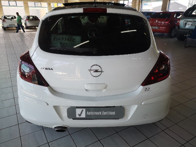 OPEL CORSA 1.4 SPORT 3Dr S/ROOF - Back