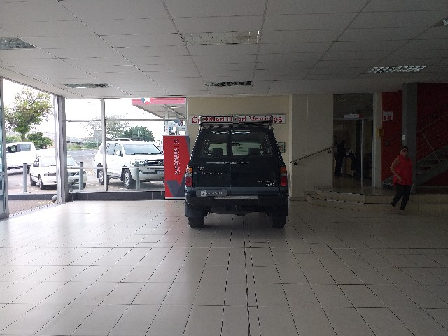 TOYOTA LAND CRUISER S/W D GX - Back