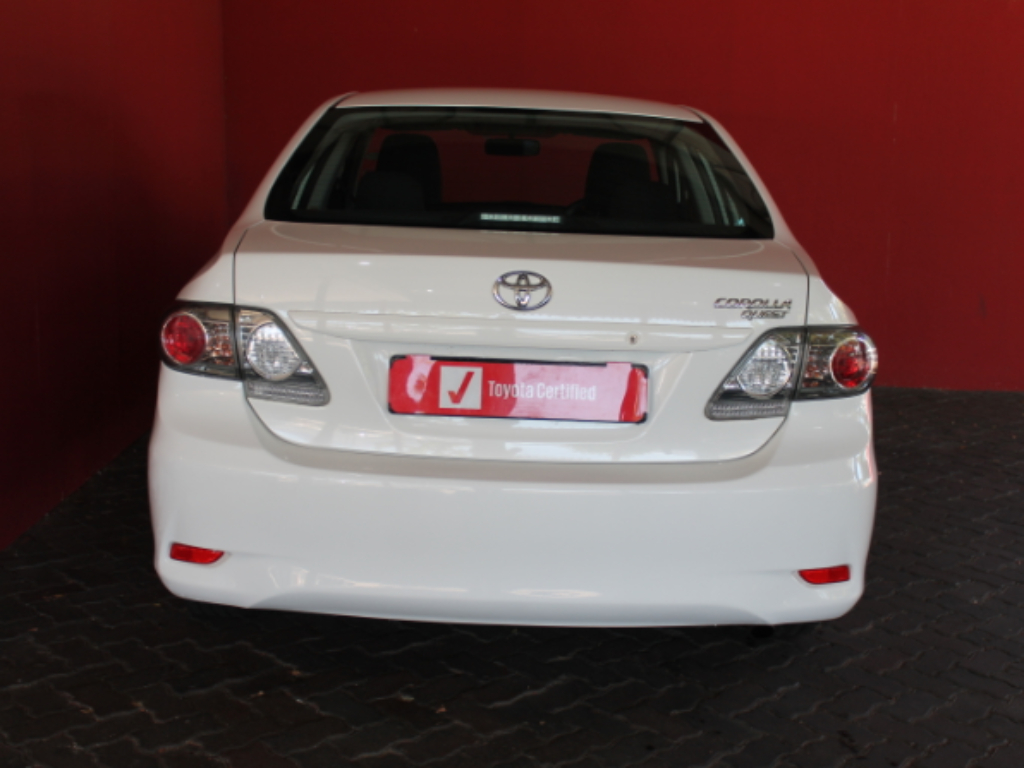 TOYOTA COROLLA QUEST 1.6 - Back