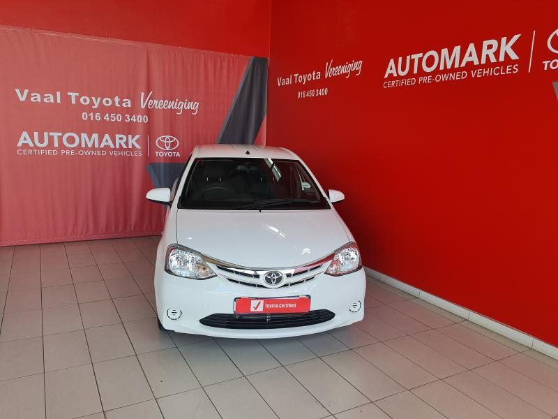 TOYOTA ETIOS 1.5 Xi 5Dr - Front