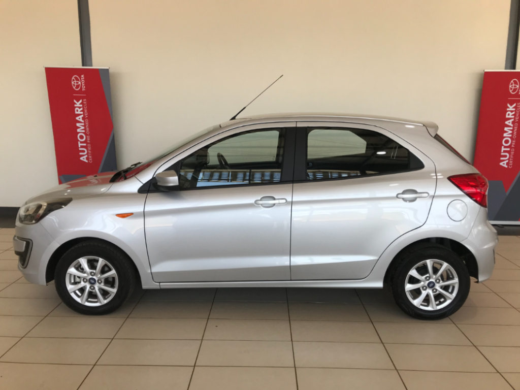 FORD FIGO 1.5Ti VCT TREND A/T (5DR) - Side