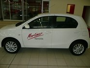 TOYOTA ETIOS 1.5 Xs/SPRINT 5Dr - Side