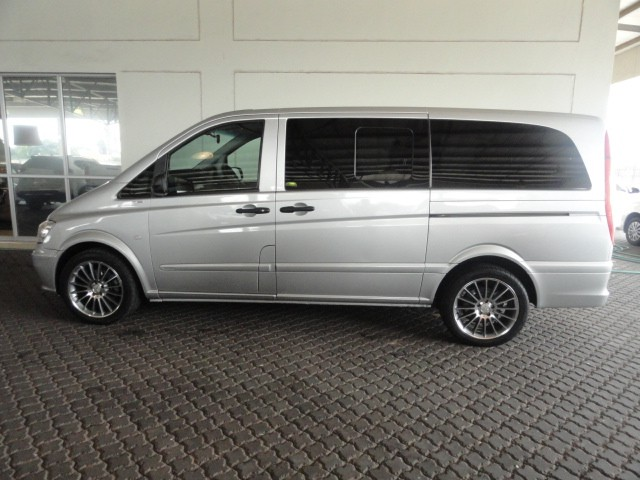 MERCEDES-BENZ VITO 122 CDi SHUTTLE - Side