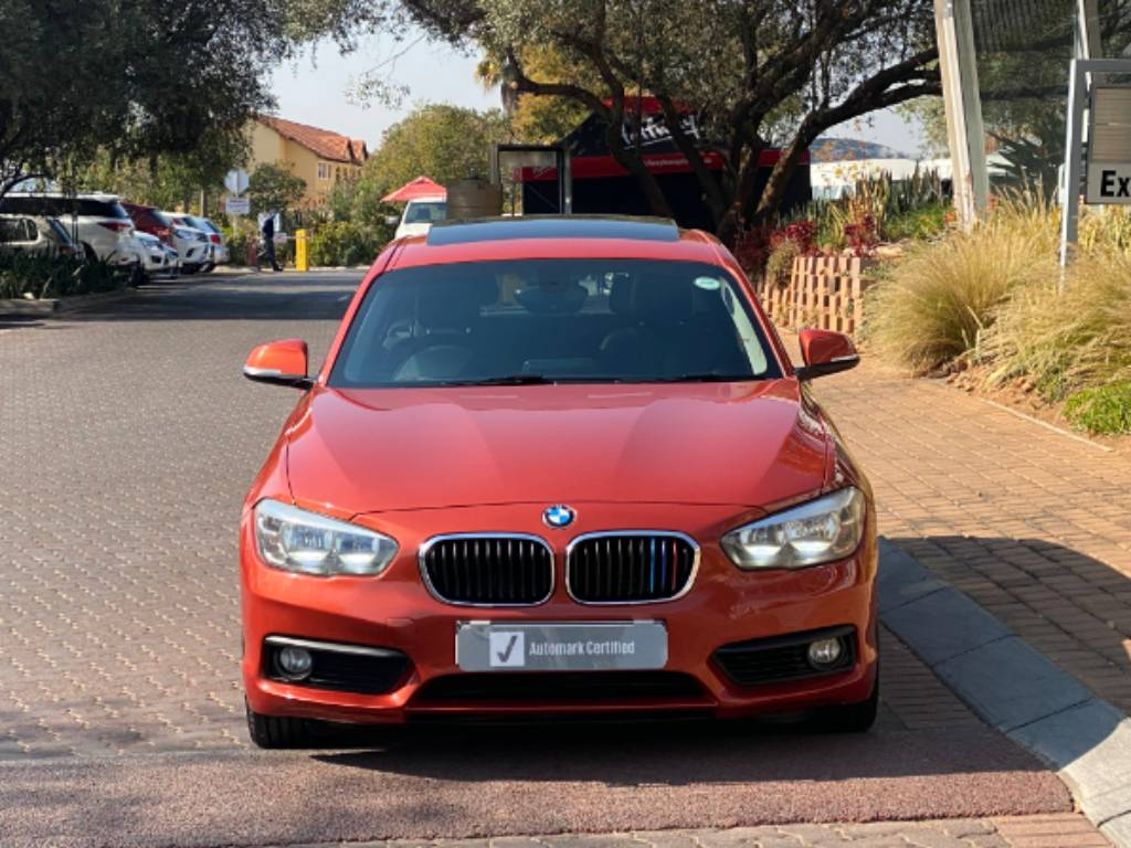 BMW 120i 5DR A/T (F20) - Front
