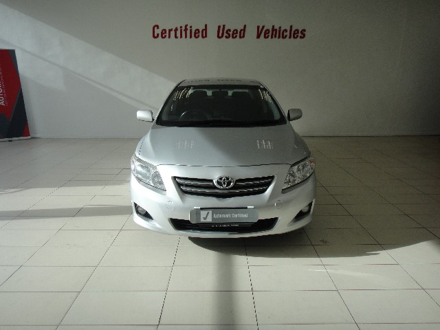 TOYOTA COROLLA 1.6 ADVANCED - Front