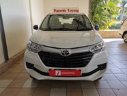 TOYOTA AVANZA 1.3 S - Front