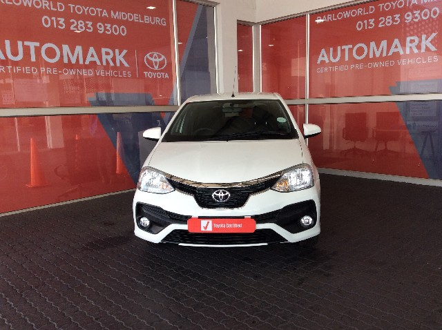 TOYOTA ETIOS 1.5 Xs/SPRINT 5Dr - Front