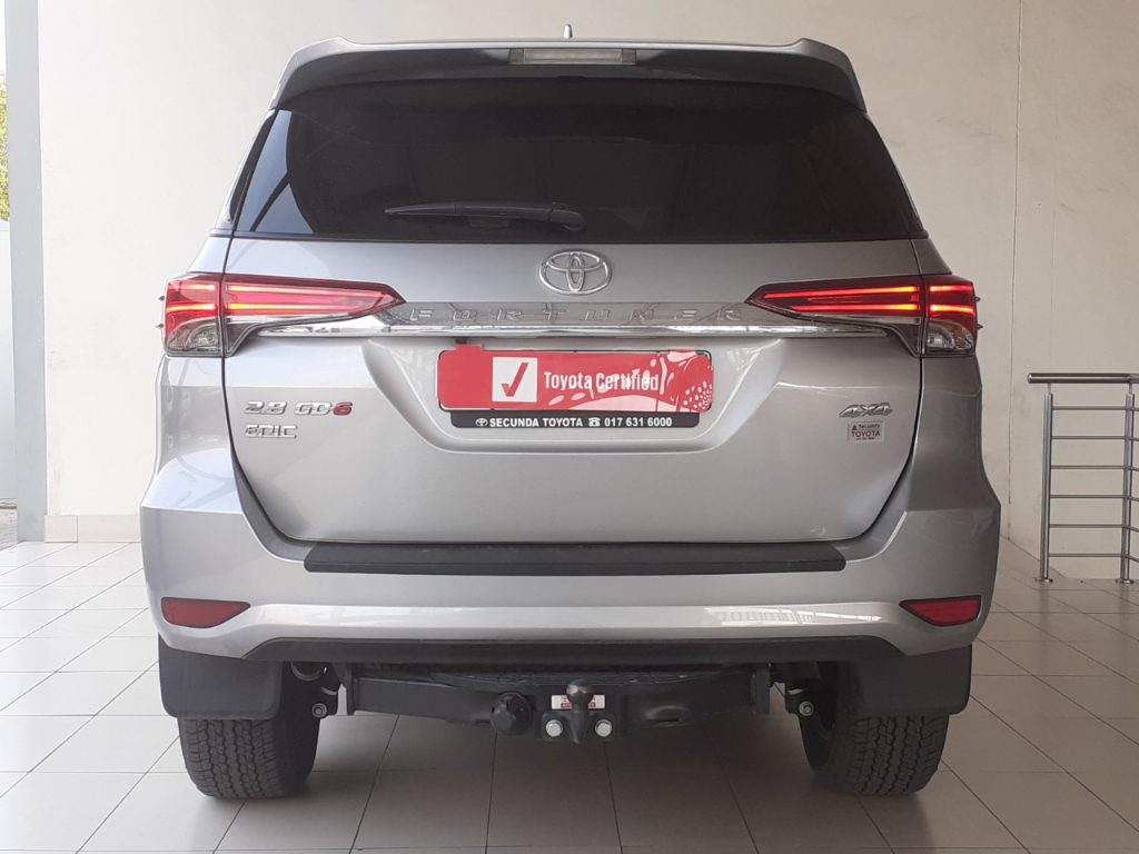TOYOTA FORTUNER 2.8GD-6 4X4 EPIC A/T - Back