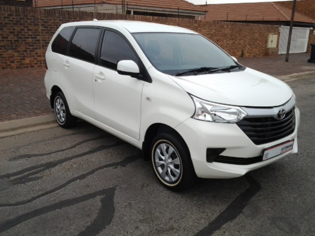TOYOTA AVANZA 1.3 SX - Additional